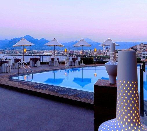 Eolian Milazzo Hotel: Piscina