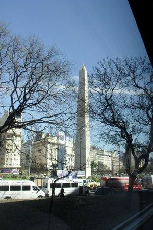 Hotel Ibis Buenos Aires Obelisco: vista buenos aires,