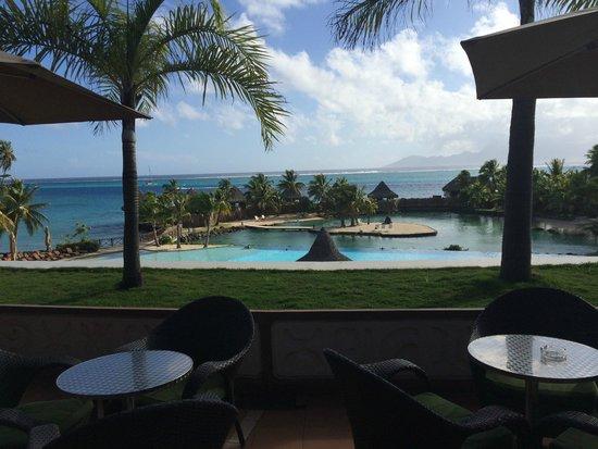 InterContinental Tahiti Resort & Spa : View from the lobby