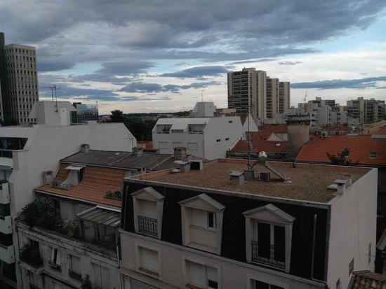 Best Western Hotel Eurociel : Vue de la chambre 68