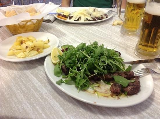 Steak House I Paoli : tagliata di bisonte