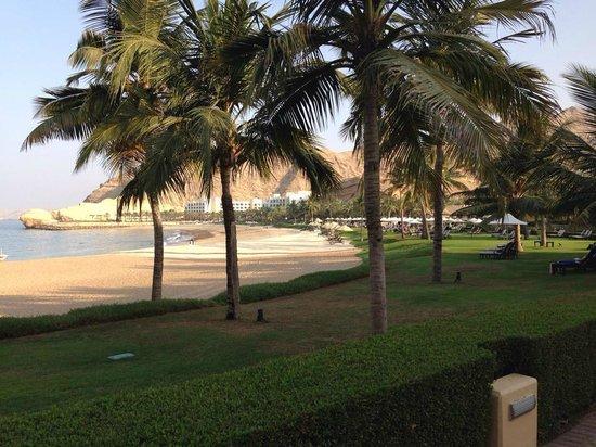 Shangri-La Al Husn Resort & Spa: Private Beach