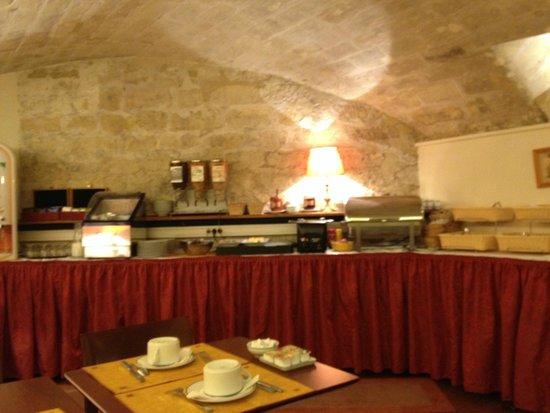 Hotel France Albion : desayuno
