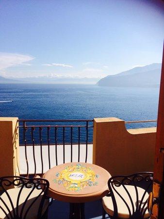 Hotel Belair : Balcony