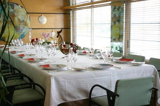 La salle du restaurant L'Atlantide