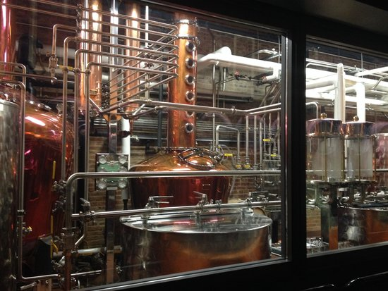 Evan Williams Bourbon Experience: Bourbon in the making
