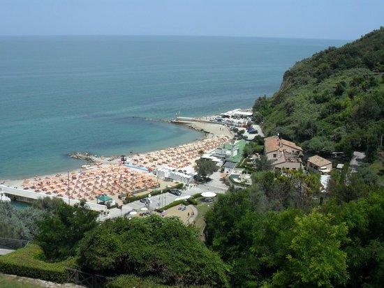 Hotel Capo Est: Dal Balcone