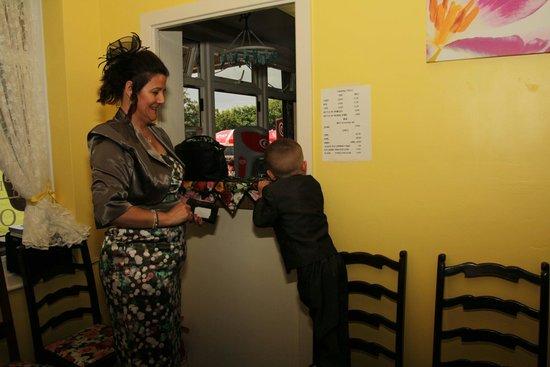 Tarquin's Tea Rooms: My wedding at tarquins  tearoom