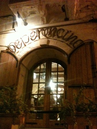 Peperoncino Restaurant: Beautiful building