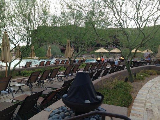 The Ritz-Carlton, Dove Mountain : Swimming pool area