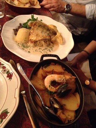 Le Tire-bouchon: Our delicious fish dishes