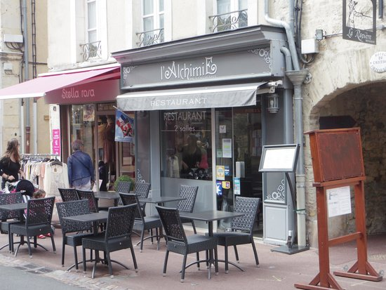 L'Alchimie Restaurant : A good two room restaurant in Bayeux