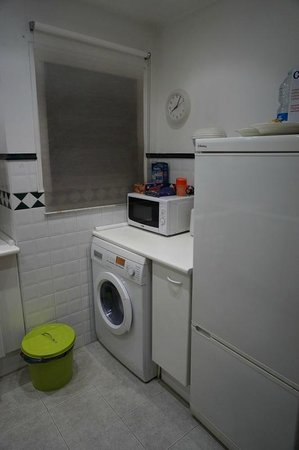 Tendency Apartments 1: Washing machine located in the kitchen