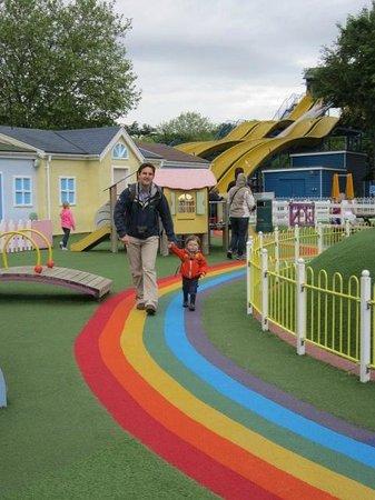 Paultons Park: Peppa-Pig playground