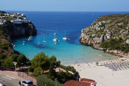 Hotel Playa Azul: vue de notre chambre