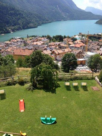 Villa La Dama Del Lago Apartments: Vista sul lago dall'appartamento al primo piano