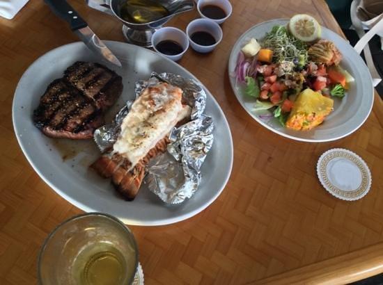 Shore Bird Restaurant & Beach Bar: dinner