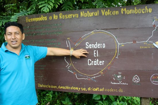 Macua Tours & Travel: Crater Walks - Reserva Natural Volcan Mombacho