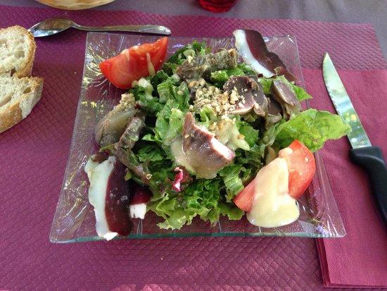 Lacombe Michel: Salade de gésiers