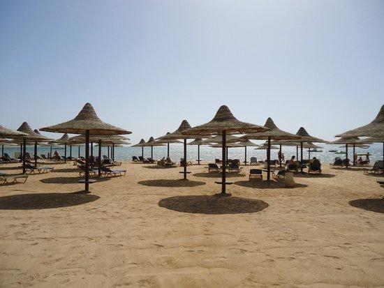 Jaz Belvedere: Private beach