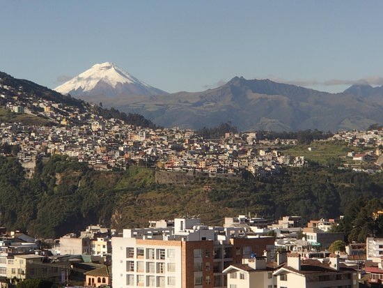 Swissotel Quito : View from our room!