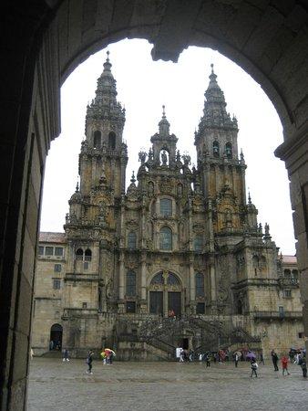 Camino de Santiago: The cathedral in Santiago
