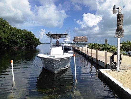 Kon-Tiki Resort : The dock & ramp