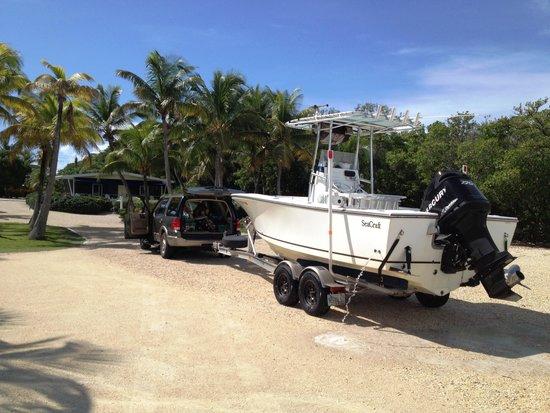 Kon-Tiki Resort: The ramp is pretty good by keys standards