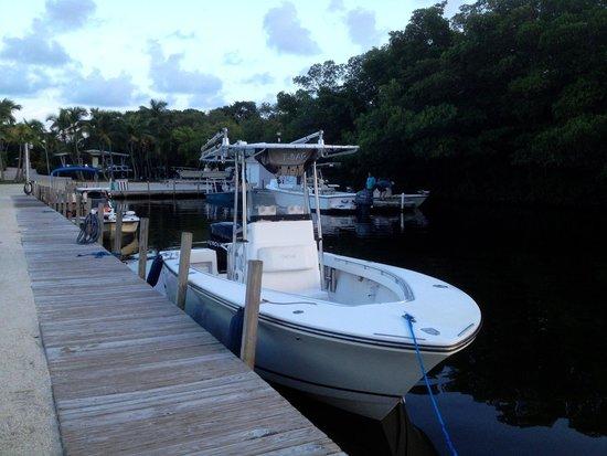 Kon-Tiki Resort: More of the dock
