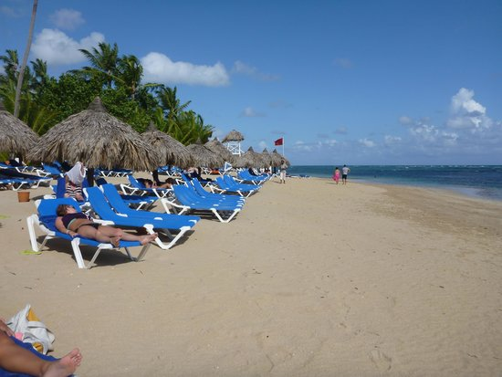 Grand Bahia Principe El Portillo: Plage
