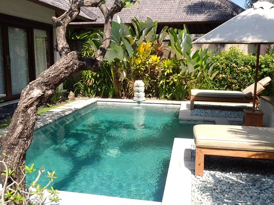 The Sanyas Suite Seminyak: Private pool and garden