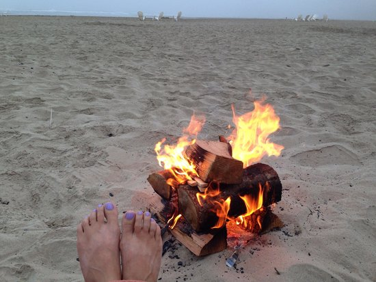 Surfsand Resort: We paid $25 for private bonfire with s'more making stuff