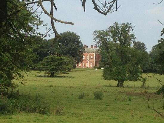 Beningbrough Hall, Gallery and Gardens: view from the river