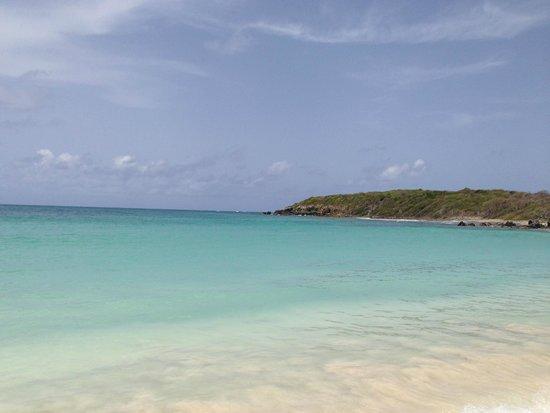 Secret Beach: Look at that water!