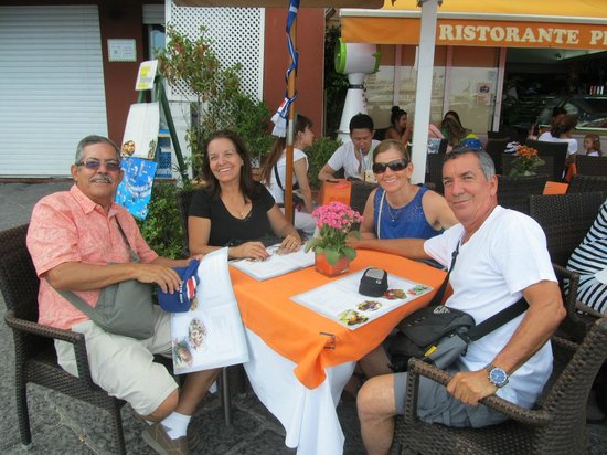 Villa Damecuta: Restaurante en el centro de Anacapri