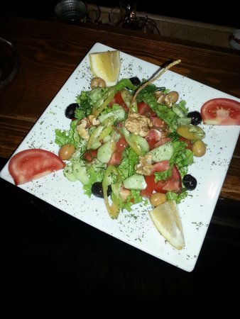 Keyf-i Mekan Cafe And Restaurant: chıef salad