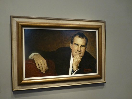 National Portrait Gallery: President Nixon