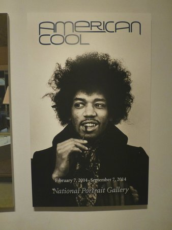National Portrait Gallery : American Cool - who is cooler than Jimi Hendrix