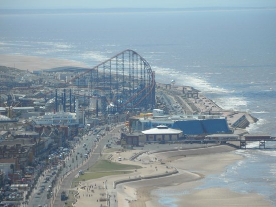 Queens Promenade Hotel: Blackpool Tower View