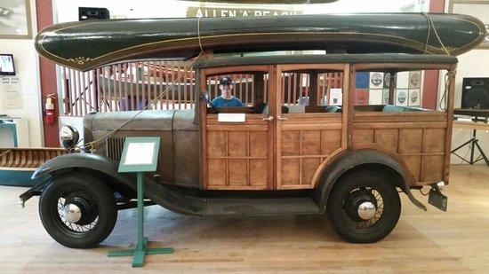 New Hampshire Boat Museum: Original woody