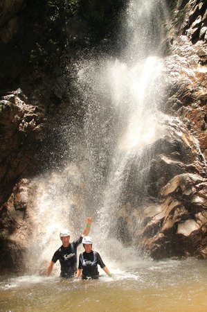 Outdoor Adventure by Vallarta Adventures: The waterfall rappel