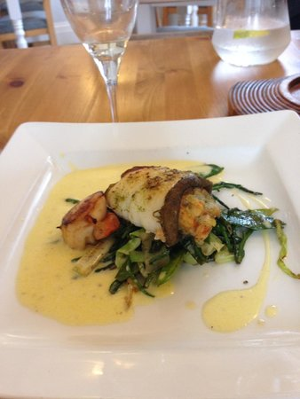 Cafe Fish: main course