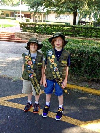 Fort Caroline National Memorial : junior rangers