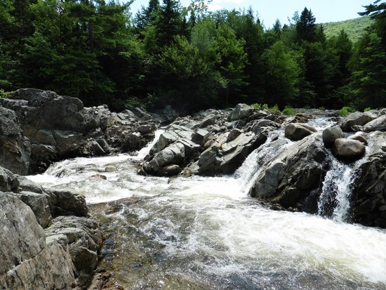 North River Kayak Day Tours: Short hike to North River (lower) falls - ask Angelo for directions