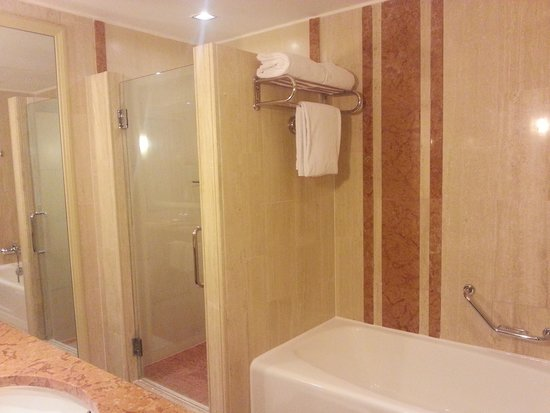 Marina Mandarin Singapore: Bathroom