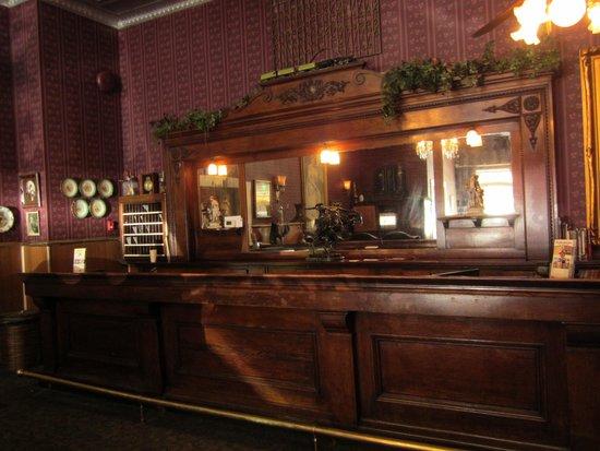 Gold King Dining Room: Adjoining Hotel Lobby - Barwork