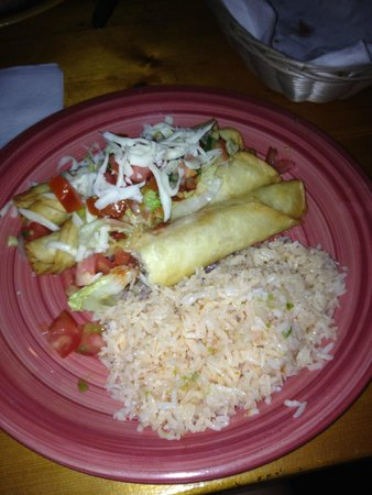 Acapulco Delight Restaurant: Chimichanga