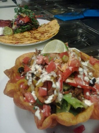 Cow Cafe: Chefs Feature - Steak Taco Salad