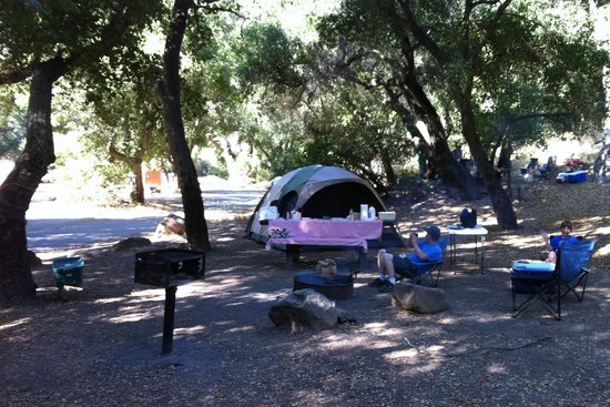 Wheeler Gorge Campground: Campsite 54