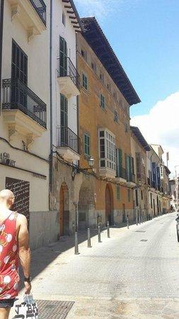 Santa Clara Urban Hotel & Spa: A view of the street that Santa Clara is situated